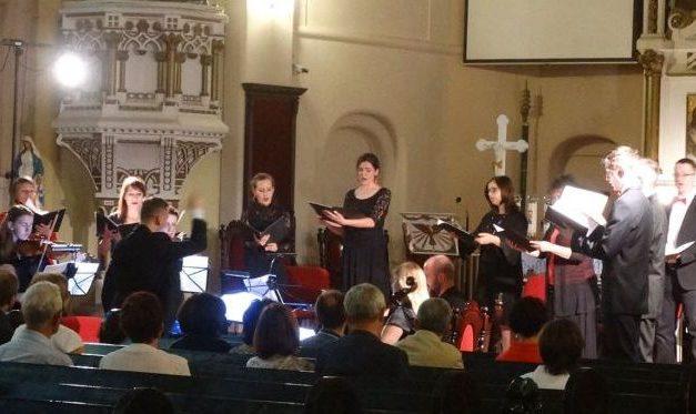 11 czerwca 2017 <BR>Koncert w kościele pw. św. Wojciecha w Szczecinie