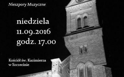 11 września 2016 Vesperae Musicae