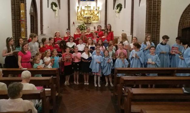 1 czerwca 2018<BR>I Ogólnopolski Festiwal Scholi Dziecięcych