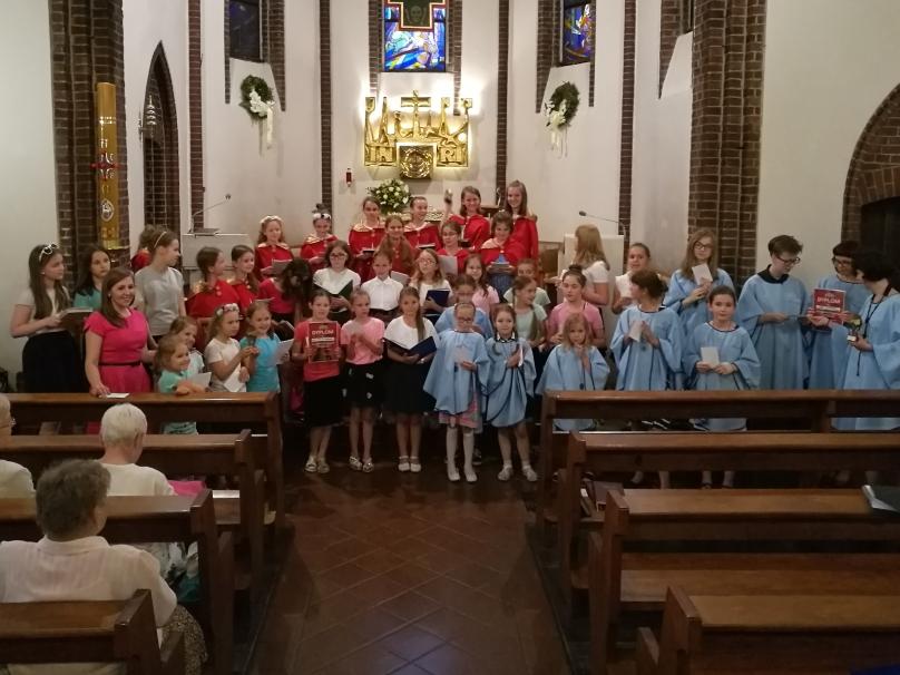 1 czerwca 2018I Ogólnopolski Festiwal Scholi Dziecięcych