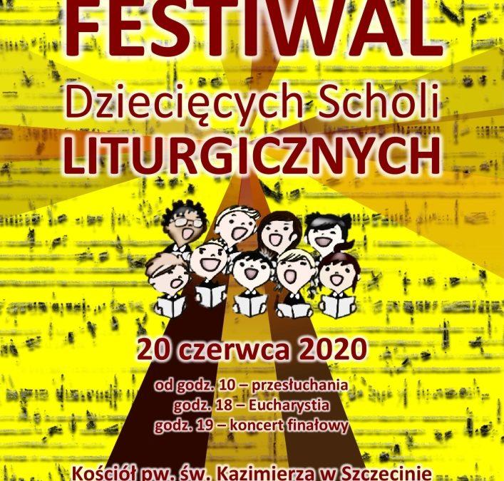Festiwal scholi dziecięcych
